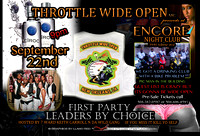 Throttle Wide Open 1st Party Leaders By Choice 2012