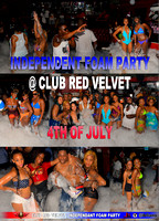 Independent Foam Party Club Red Velvet 4th of July 2013