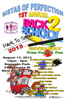 S.O.P. Back To School Drive