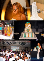 Tasha Birthday Party All White Party Hyatt Regency